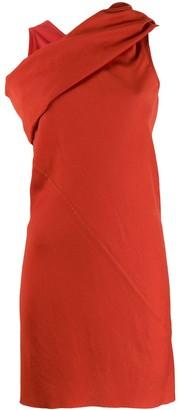 Rick Owens cross neck longline top