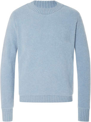 The Elder Statesman Exclusive Crew Neck Cashmere Sweater