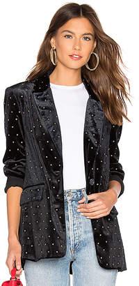 Rebecca Minkoff Morris Velvet Jacket
