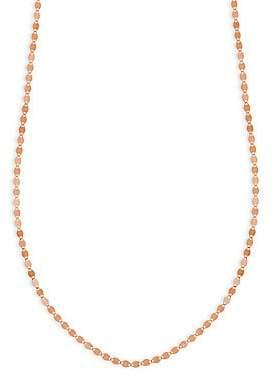 Lana Women's Petite Nude Chain 14K Rose Gold Choker