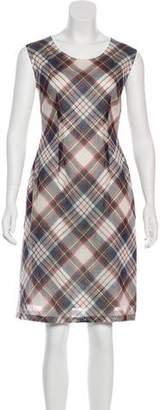 Dries Van Noten Plaid Knee-Length Dress