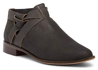 Kelsi Dagger Brooklyn Ashton Knotted Leather Ankle Boot