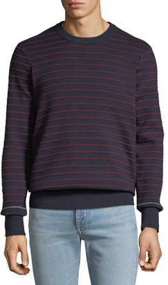 Rag & Bone Men's Sam Striped Crewneck Sweater