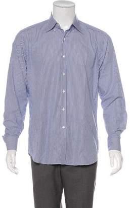 Tod's Striped Dress Shirt