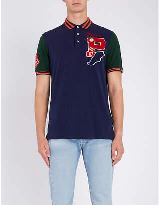 Polo Ralph Lauren Appliqué-detail classic-fit cotton-piqué polo shirt
