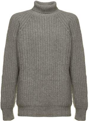 Officine Generale Ribbed Turtleneck Sweater