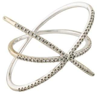 Ef Collection 14K Diamond Cage Ring