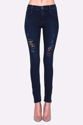 James Jeans Skinny Distressed Jeggings