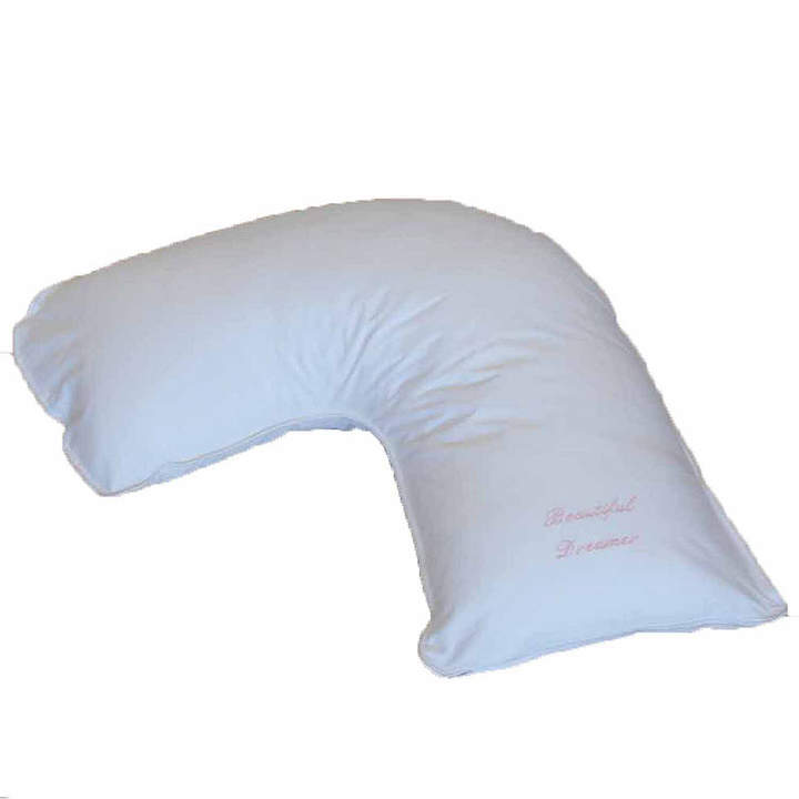 THE PILLOW BAR Breakfast in BedTM Down Alternative Side Sleeper Body Pillow with BEAUTIFUL DREAMER