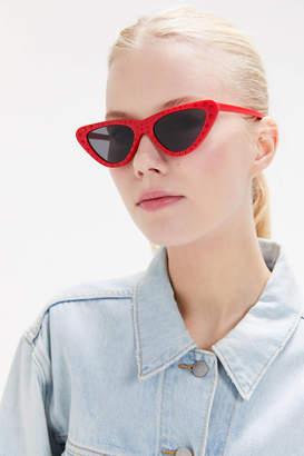 Urban Outfitters Monroe Rhinestone Cat-Eye Sunglasses