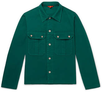 Barena Stretch-Cotton Twill Overshirt