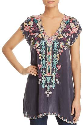 Johnny Was Petunia Embroidered Tunic