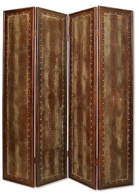 World Menagerie Newtown Screen 4 Panel Room Divider World Menagerie