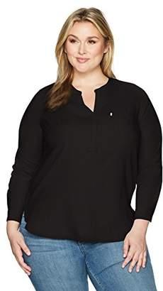 Levi's Women's Plus-Size Easy Popover Shirt