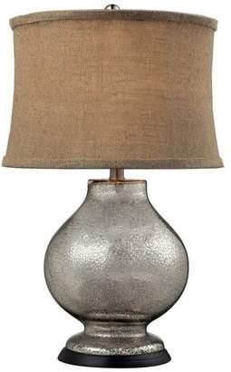 Dimond Lighting 24 Stonebrook Antique Mercury Glass Table Lamp
