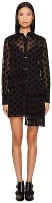 McQ Decon Ruffle Tunic Women's Clothing