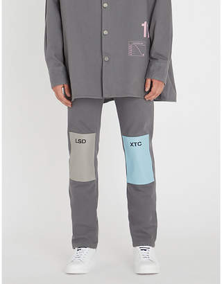 Raf Simons Knee patch regular-fit straight jeans