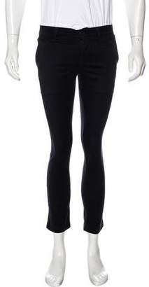Saint Laurent Twill Slim Cropped Pants