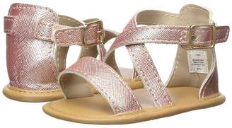 Baby Deer Soft Sole Crisscross Sandal Girls Shoes