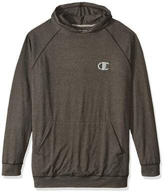 Champion Men's Big and Tall Cotton Jersey Hood with LC c