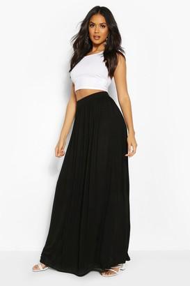 111cae9f75 Pleated Jersey Maxi Skirt - ShopStyle UK