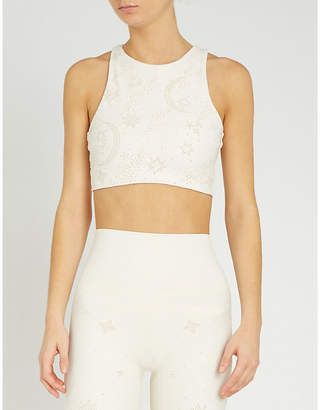 Beach Riot Kendal stretch-jersey crop top