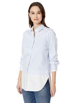 697c5eac607 Foxcroft Women's Giselle Non Iron Stripe Tunic