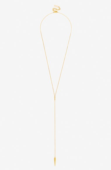 Women's Baublebar 'Pyramid Spike' Y-Necklace