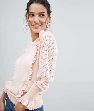 Vila Frill Detail Sweater