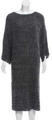 eskandar Silk-Blend Sweater Dress