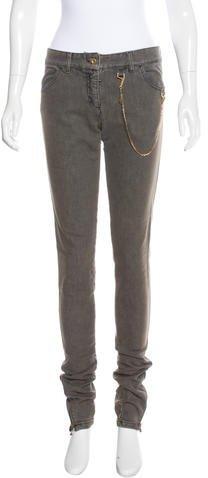 Stella McCartneyStella McCartney Mid-Rise Skinny Jeans