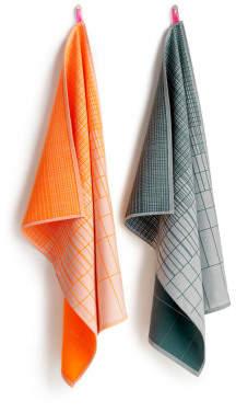 Sale - Cold Forest Cotton Tea Towels - Set of 2 - Hay