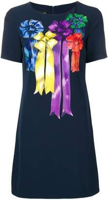 Moschino bow detail T-shirt dress