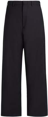 Vetements X Brioni wide-leg cropped trousers