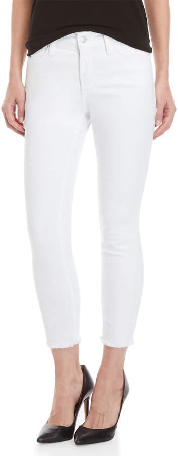 Petite Alina Ankle Fray Hem Skinny Jeans