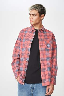 Factorie Long Sleeve Check Shirt