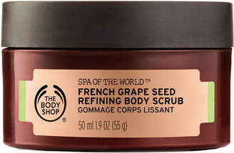 The Body Shop Online Only Spa Of The World French Grape Seed Scrub