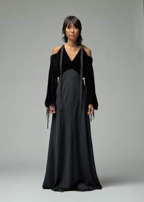 Sies Marjan Carter Corduroy Strap Shoulder Dress