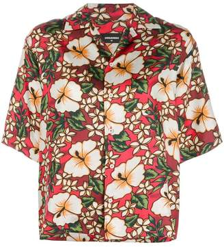 DSQUARED2 Hawaiian floral-print shirt