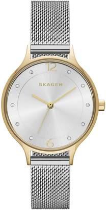 Skagen skw2340 Steel Bracelet & Case Mineral Women's Watch