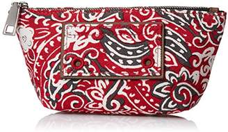 Marc Jacobs Paisley Cosmetics Small Trapezoid Bag