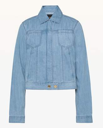 Juicy Couture Cotton Chambray Jacket
