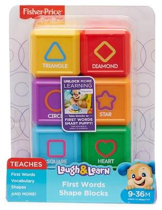 Fisher-Price Laugh & Learn First Words Shape Blocks