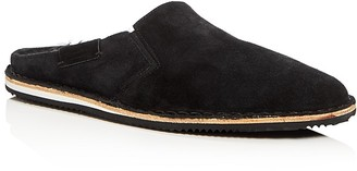 Uri Minkoff Upton Shearling Lined Loafer Slippers $175 thestylecure.com