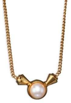 Vita Fede Titan Pearl Pendant Necklace