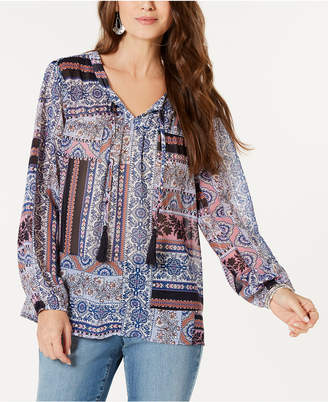 Style&Co. Style & Co Printed Blouse