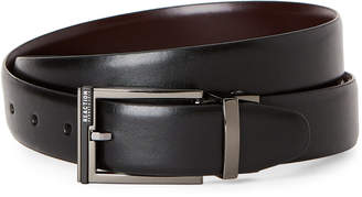 Kenneth Cole Reaction Black & Burgundy Reversible Belt