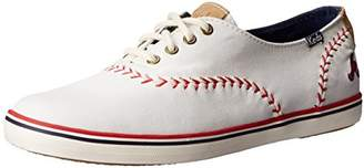 Keds Women's Champion MLB Pennant Baseball Fashion Sneaker $38.28 thestylecure.com
