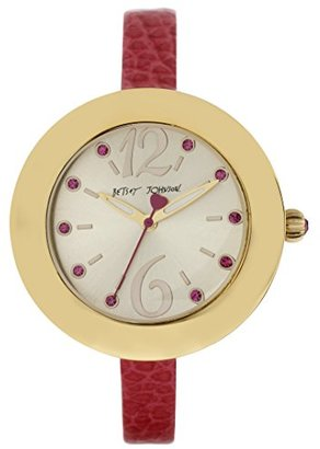 Betsey Johnson (ベッツィ ジョンソン) - ベッツィジョンソンWomen 's bj00442 – 03 Analog Display Quartz Pink Watch