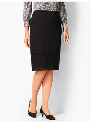 Talbots Refined Ponte Pencil Skirt